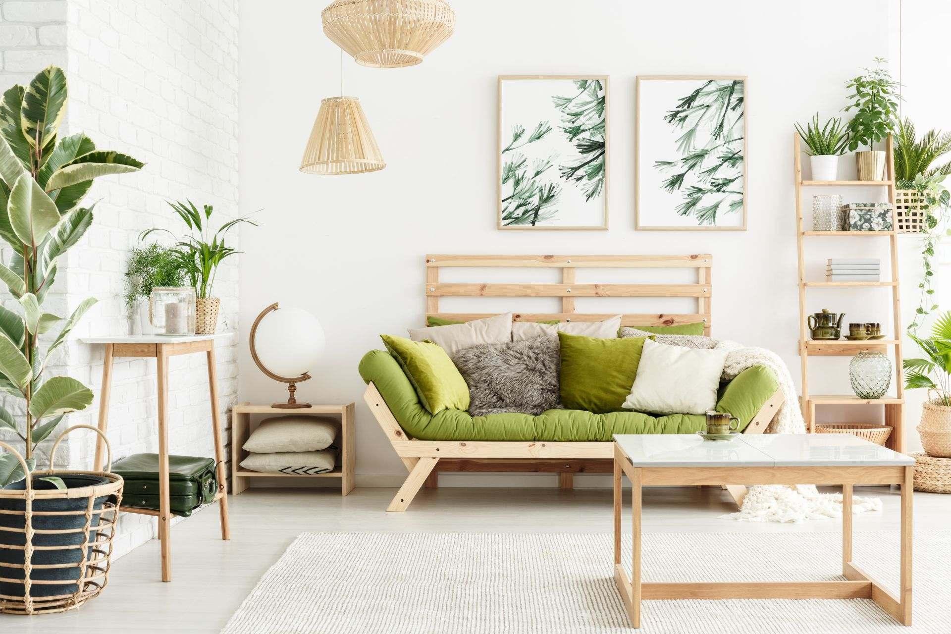 Decoración ecológica para el hogar